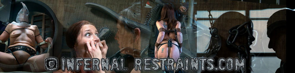 Female slavegirls in restraints